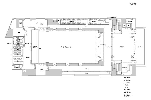 Hall ground plan