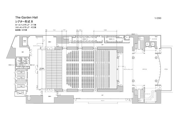 Hall theater B