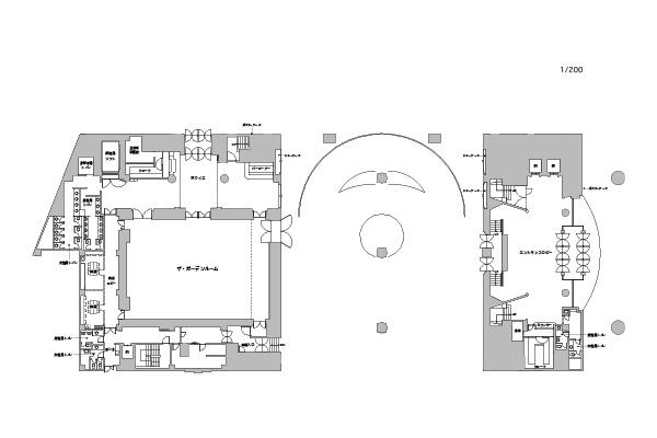 Room ground plan