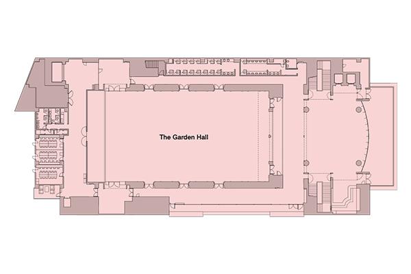 The garden hall