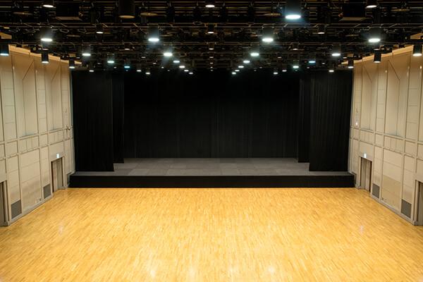 Hall floor (stage)