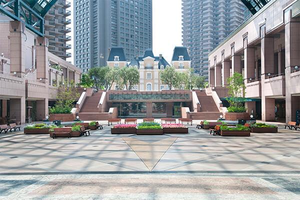 Yebisu Garden Place open space