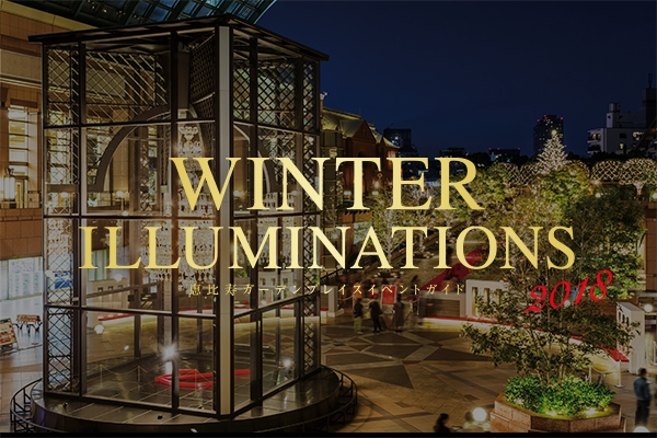 """Yebisu Garden Place winter illuminations"" / ""form - of Baccarat ETERNAL LIGHTS- joy"""