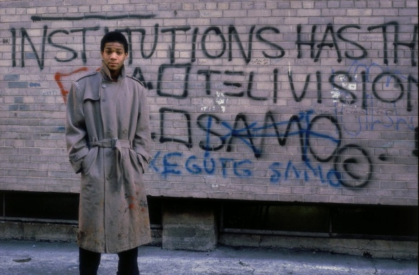 At the time of Basquiat, teenage last