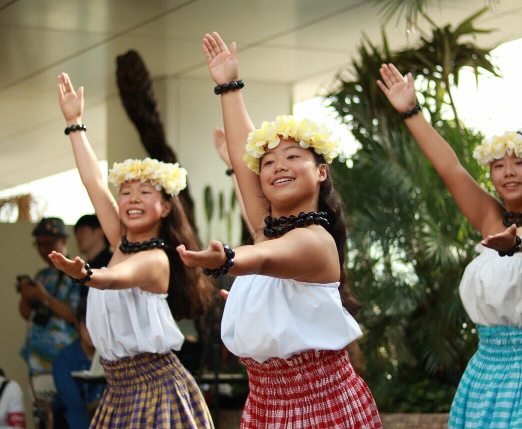 そよ風のようなハワイアン・ダンス
